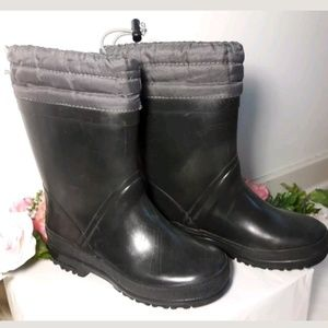 Youth 13 Snow Rain Rubber Boots